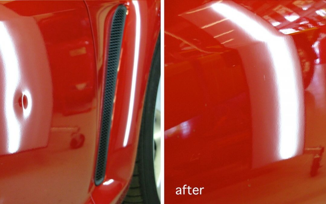 Mazda RX-8 Dent Removal