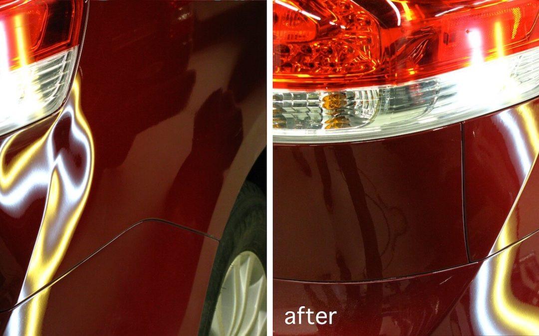 Toyota Sienna Dent Removal