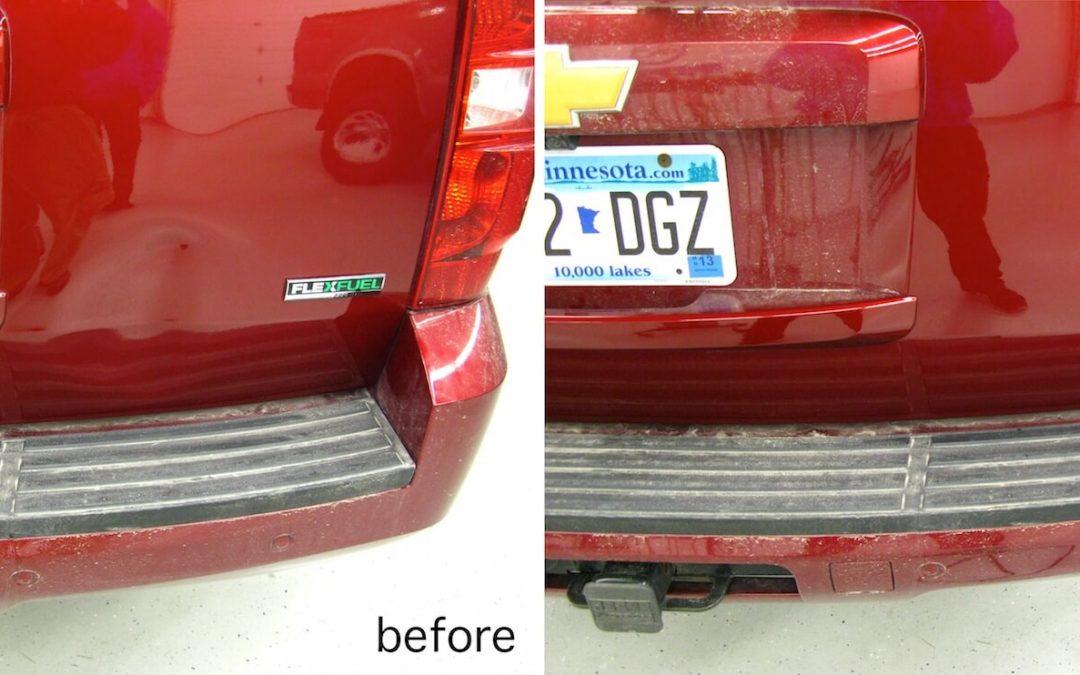 Chevrolet Suburban Dent Repair