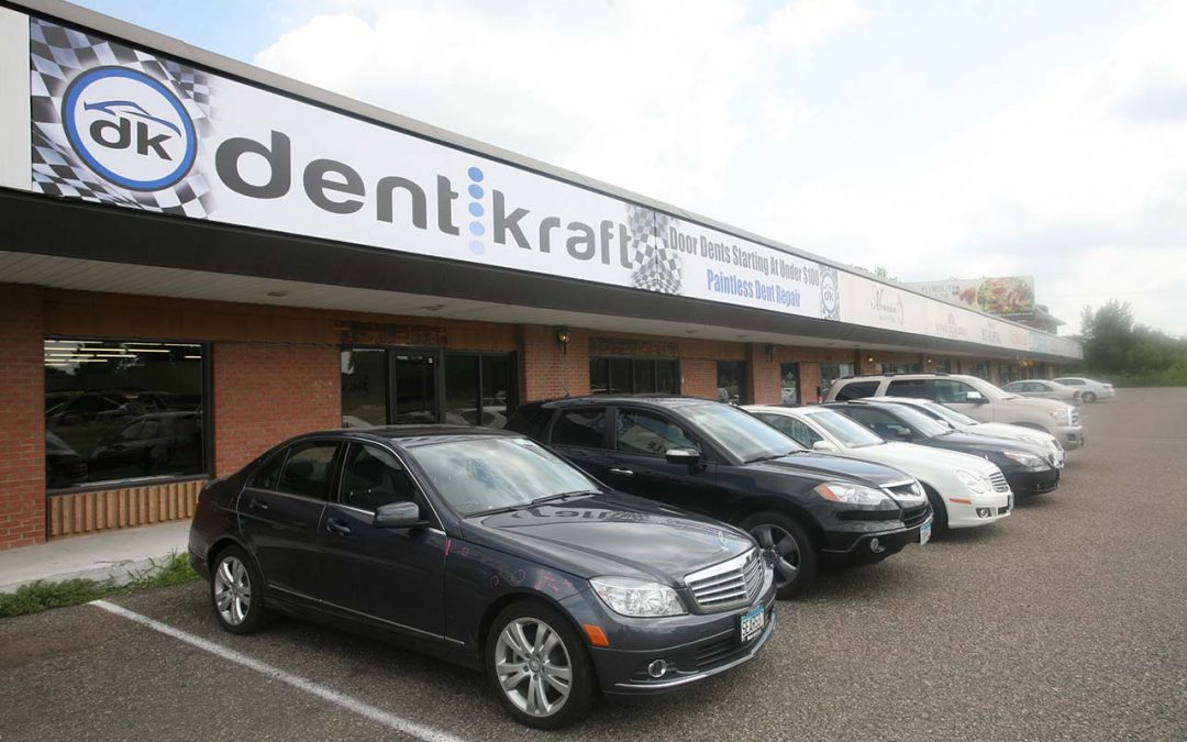 "Paintless Dent Removal MN ""Advantages Over Body Shop Repairs"""