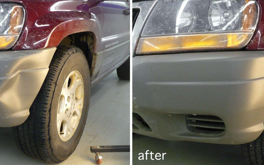 Jeep Grand Cherokee Dent Repair