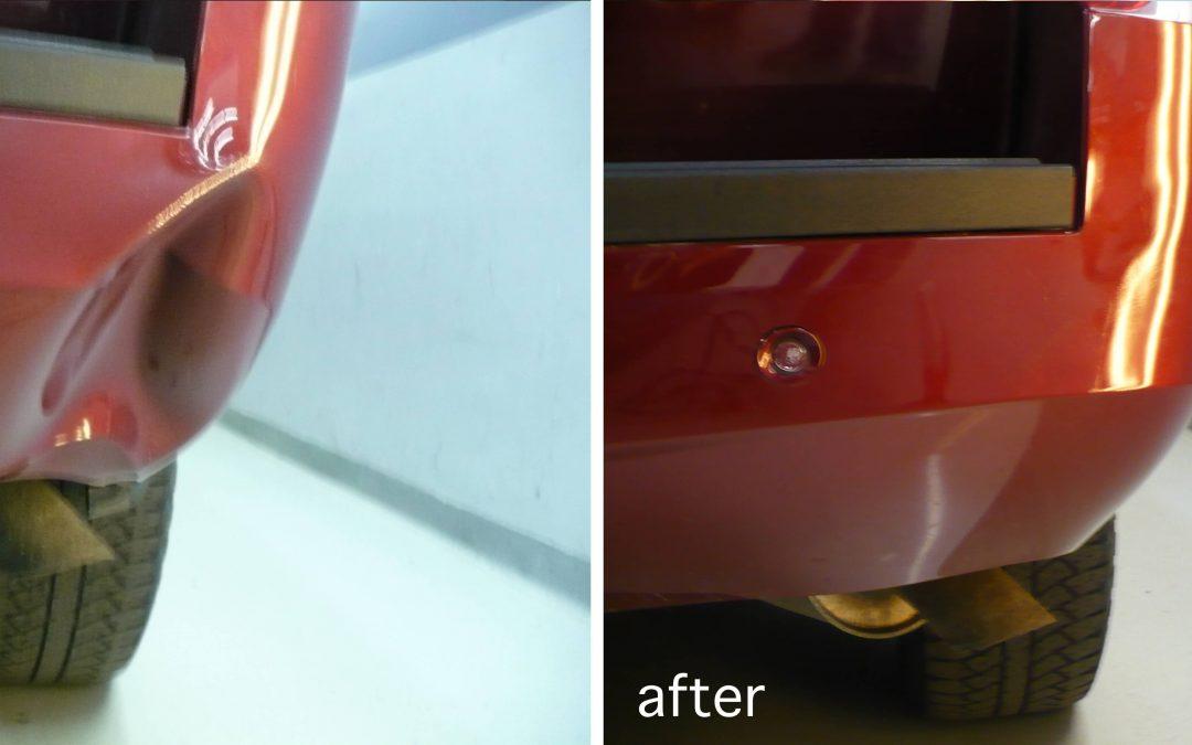 Chevrolet Tahoe Dent Repair