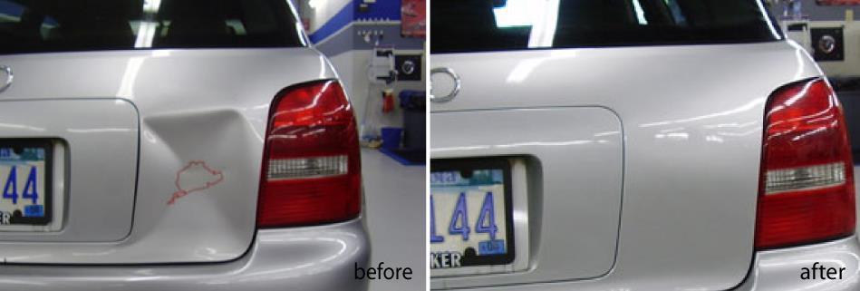Audi S4 Avant Dent Repair